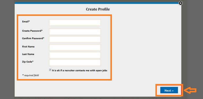 Kroger Job Application Online step 4