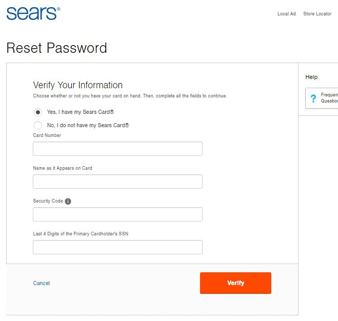www.searscard.com login